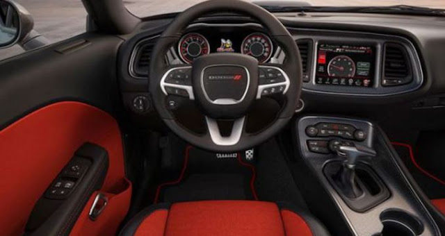 2018 Dodge Barracuda Interior