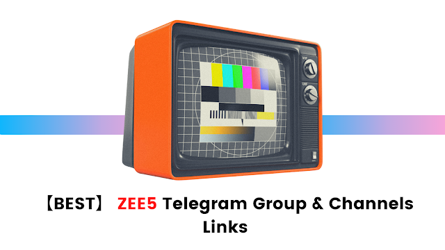 zee 5 telegram group and channels