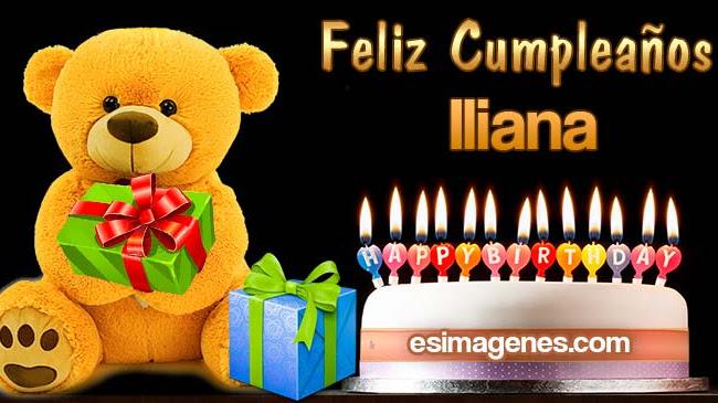 Feliz Cumpleaños Iliana