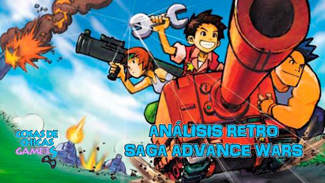 Análisis retro saga Advance Wars