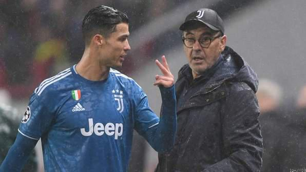 Sarri Explains Angry CR7 Reaction After Substitution