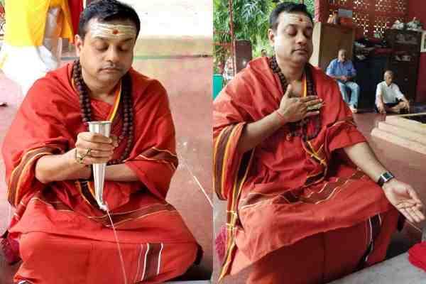 sambit-patra-image-in-yogi-bhesh-odisha-cm-candidate