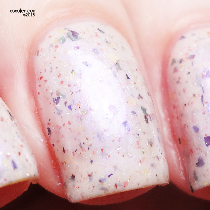 xoxoJen's swatch of Native War Paints Ghost Supper