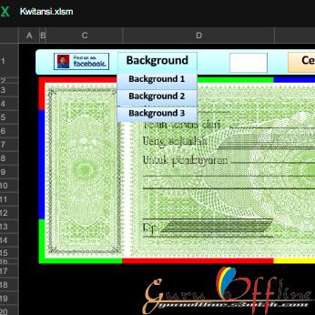 Aplikasi Kwitansi Format Excel Gratis Terbaru 2016
