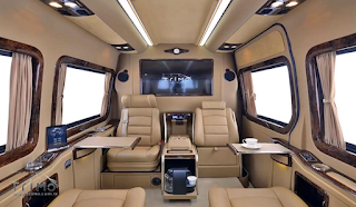 The Mercedes Benz Sprinter SVD1010 VIP TRIMO Design