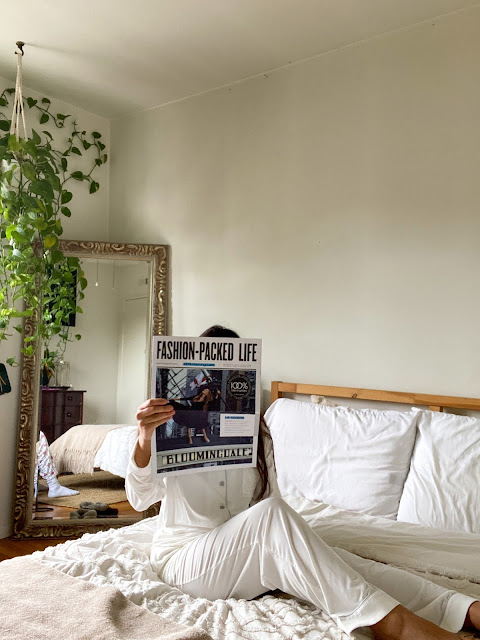 Kelly Fountain Cozy Earth Bedding Pajamas lounge wear bamboo silk campaign fashion