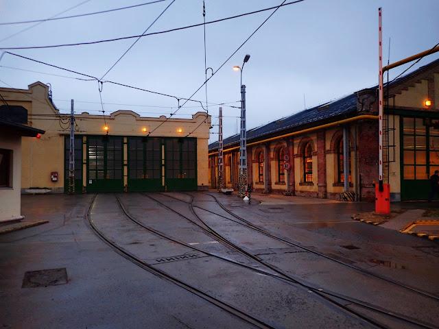 Zajezdnia tramwajowa w Budapeszcie