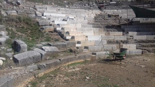 Θεσπρωτία: Συνεχίζονται οι εργασίες ανάπλασης του αρχαίου θεάτρου Γιτάνων στη Θεσπρωτία (ΦΩΤΟ & VIDEO)