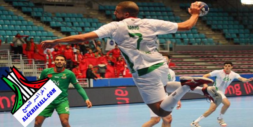 """رياضة - كرة اليد : """"الخضر"""" ينهزمون أمام تونس ويواجهون مصر في نصف النهائي"""