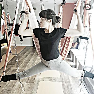 classe yoga aérien