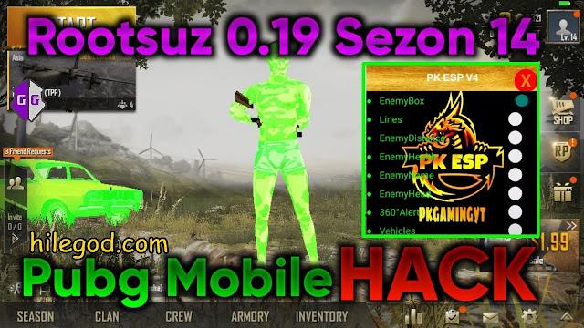 Pubg Mobile 0.19 Wall Hack Bedava Apk Hilesi Rootsuz 2020