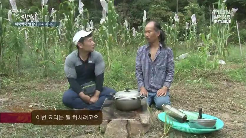 자연인의 벌꿀 국수
