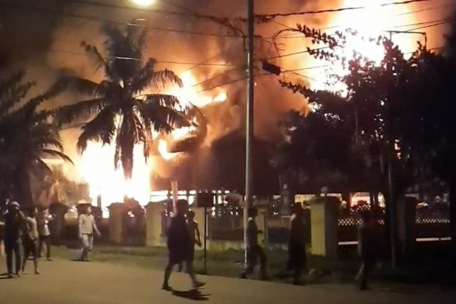 Rumah Adat Bola Soba di Bone Terbakar, Kini Tinggal Puing