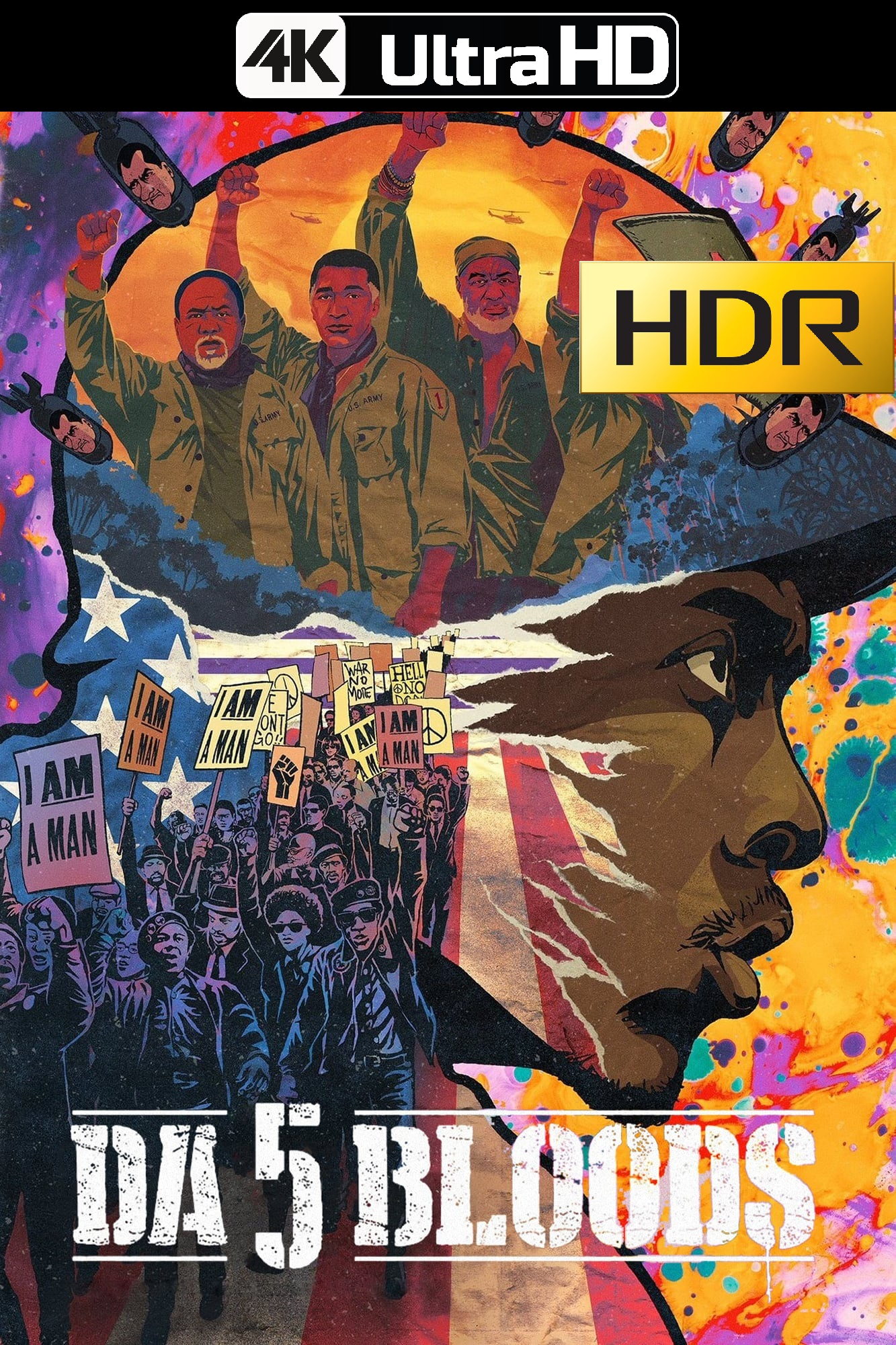 5 Sangres: Hermanos de armas (2020) 4K UHD HDR Web-DL Latino