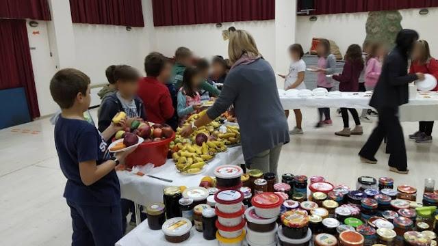 Γιάννενα: Εκδήλωση για την διατροφή στο Δημοτικό Σχολείο Πεδινής