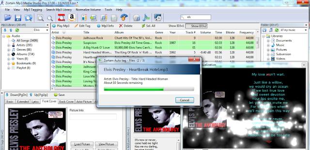 تحميل برنامج تحرير الاغاني مجانا Zortam Mp3 Media Studio