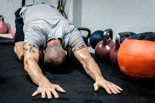 get rid of muscle soreness stretching
