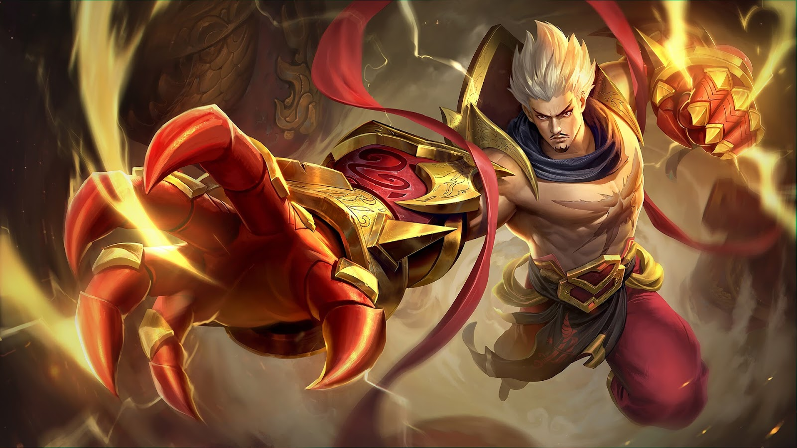 Wallpaper Gatotkaca Spark Skin Mobile Legends HD for PC