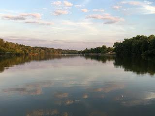 Fishing, Lake, Below Truman Dam