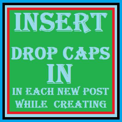 Drop Caps