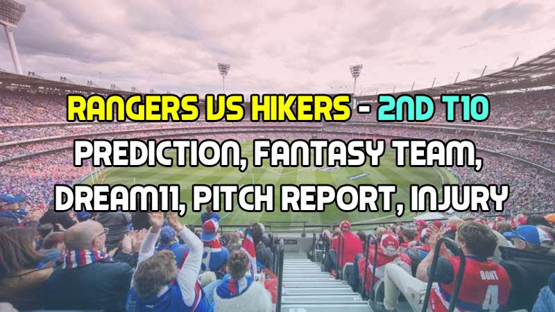Botanic Gardens Rangers vs La Soufriere Hikers, 2nd T10 Prediction, Fantasy Team, Dream11, Pitch Report, Injury