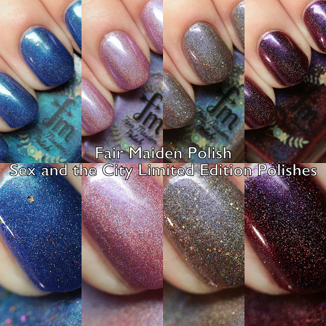 Fair Maiden Polish Sex and the City Limited Edition Polishes