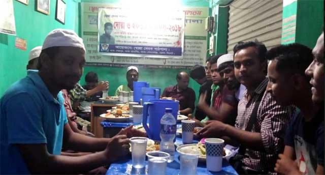 গোলাপগঞ্জে মরহুম মিজানুর রহমান আরিফ স্বরণে ইফতার ও দোয়া মাহফিল