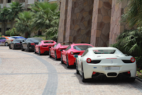 Parallel parking in Dubai