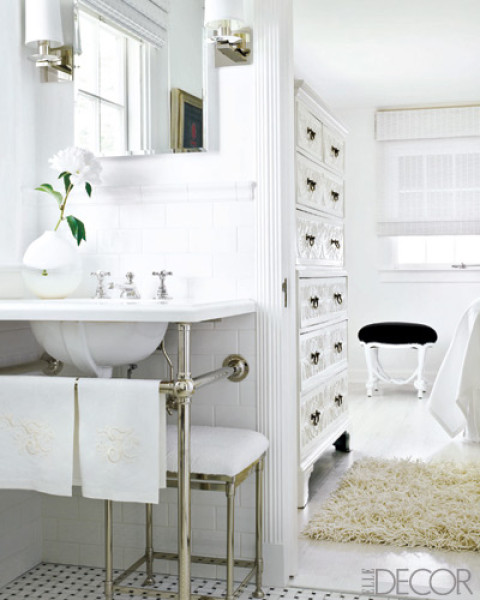 Chairs In The Bathroom The Well Appointed House Design Fashion And Lifestyle Blog