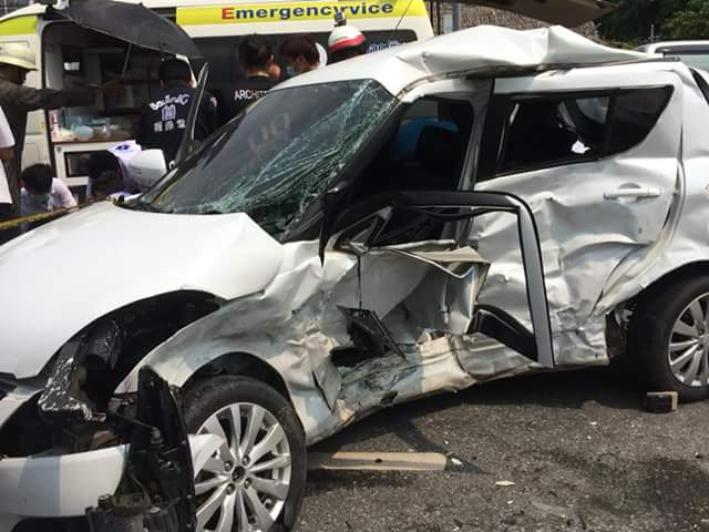 Photos: Young Thai Couple Born on Same Day and Time, Die Together in Fatal Car Crash