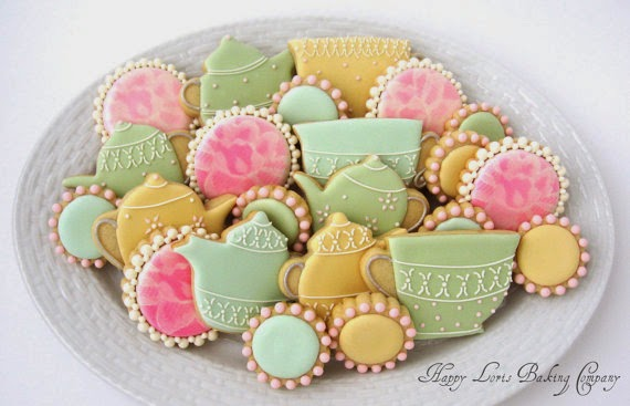cookies for tea party
