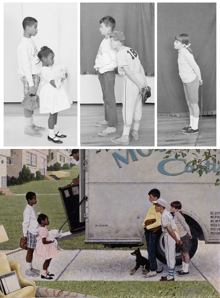 The Greatest Cartoonist Of All Time!: Norman Rockwell Is A