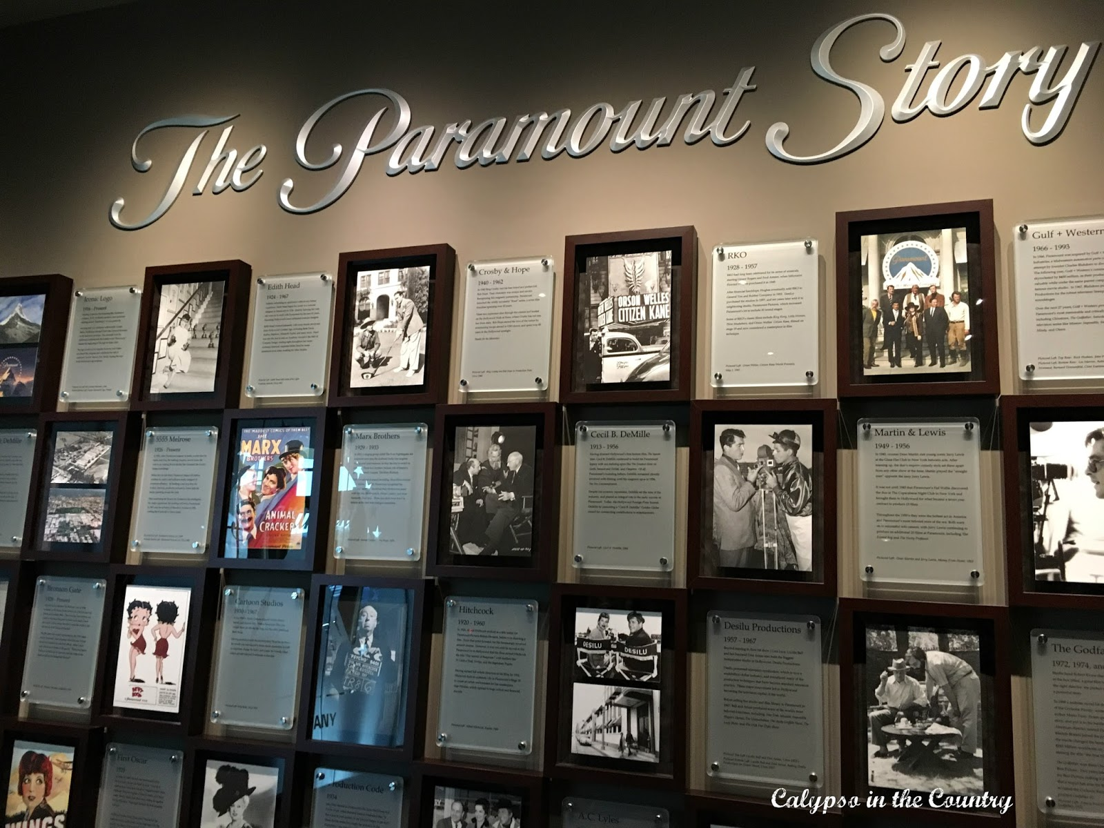 The Paramount Story - the beginning of the studio tour