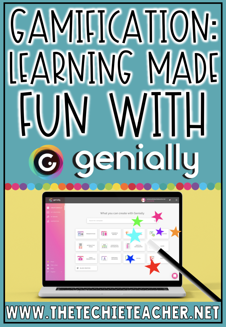 Gamification: Create games, digital breakouts, digital escape rooms and more with Genially