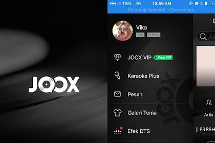 Cara Menikmati Musik Streaming VIP Menggunakan Aplikasi JOOX