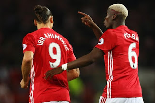 Sport: Manchester United v Newcastle: Ibrahimovic, Pogba return