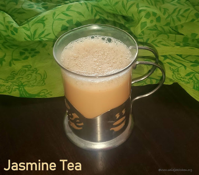 images of Jasmine Flower Tea / Jasmine Tea / Malligai Poo Tea / Mallipoo Tea