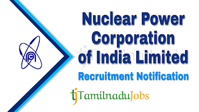NPCIL recruitment notification 2019, govt jobs for 10th pass, govt jobs for ITI, govt jobs for  diploma, central govt jobs, govt jobs in India,