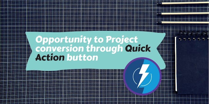 Opportunity to project (custom object) conversion through quick action button | Modal hide & Toast msg in lightning example