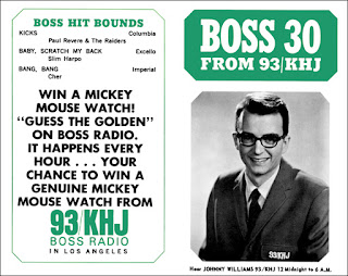 KHJ Boss 30 No. 33 - Johnny Williams