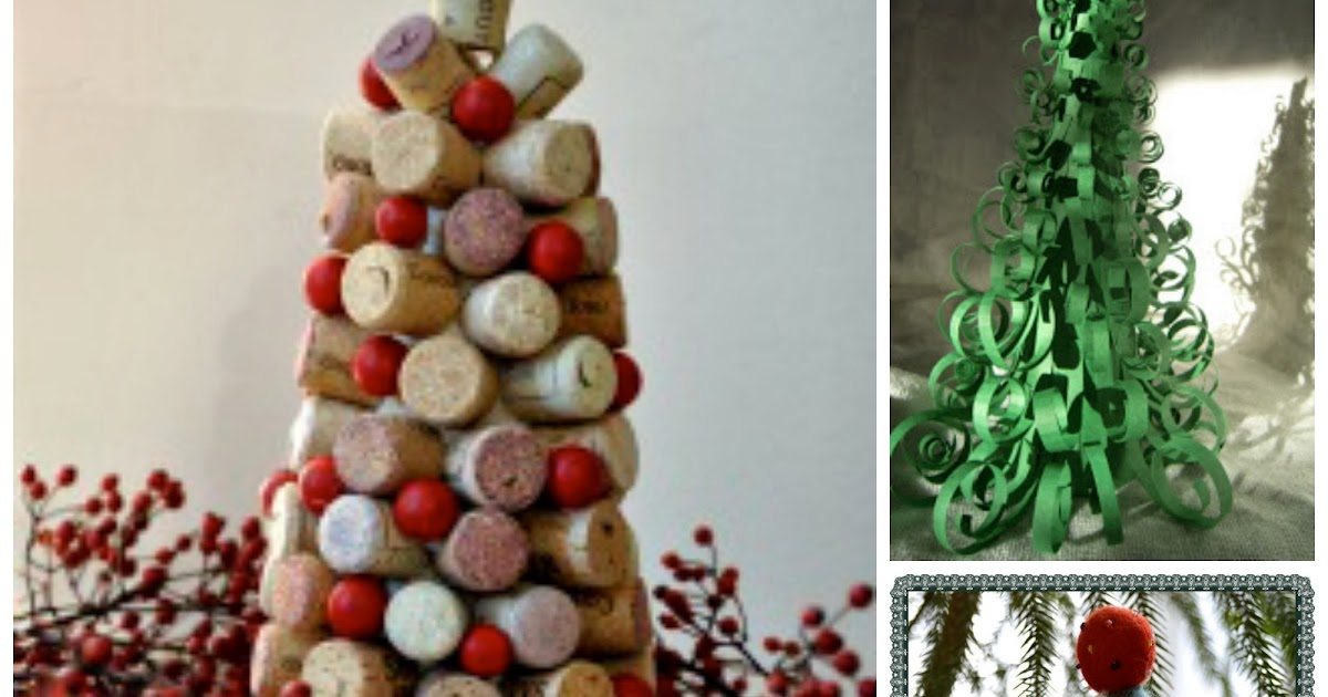 Cork Crafts Christmas Trees