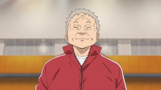 ハイキュー!! アニメ4期   音駒高校バレー部監督 猫又育史 Nekomata Yasufumi   NEKOMA HIGH