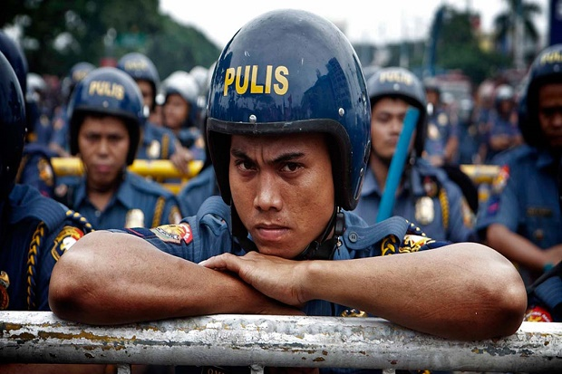 Kota di Filipina Pecat Seluruh Anggota Polisi