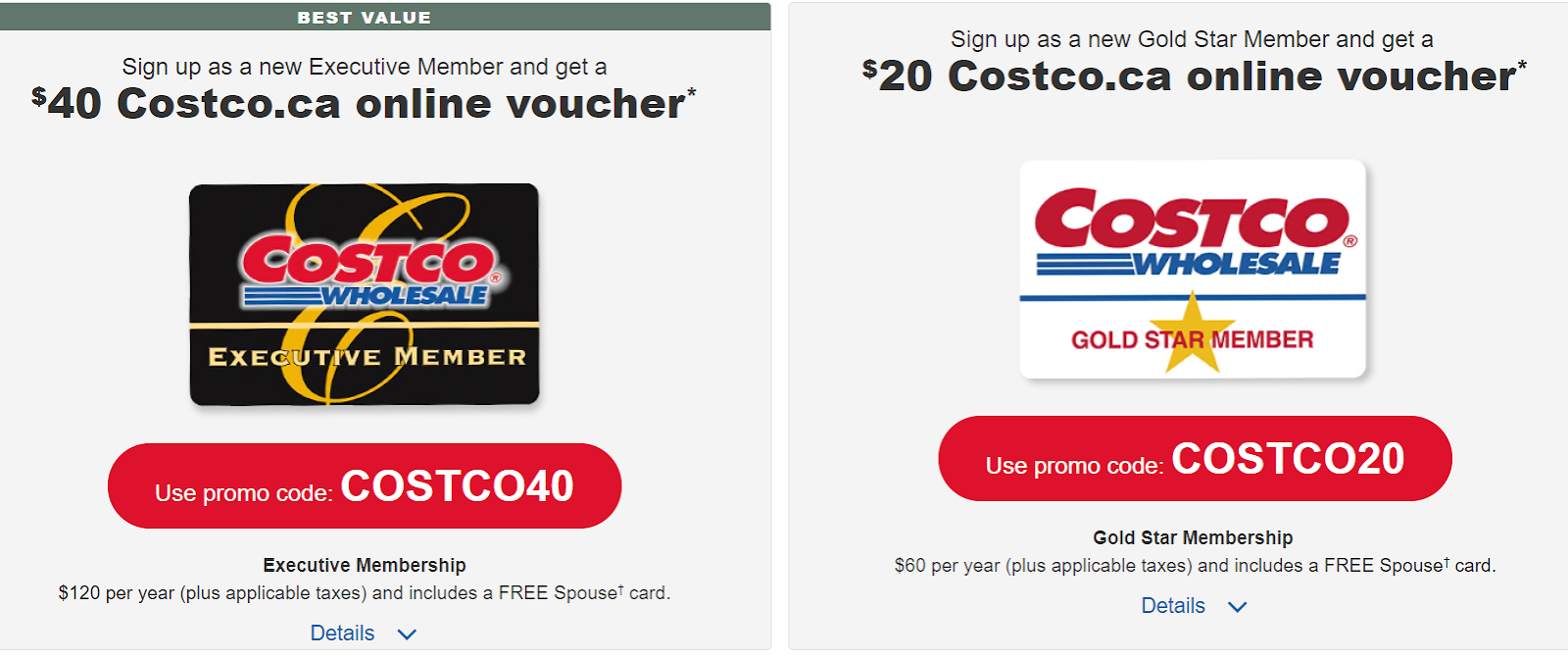Canadian Rewards Costco New Membership Promotion