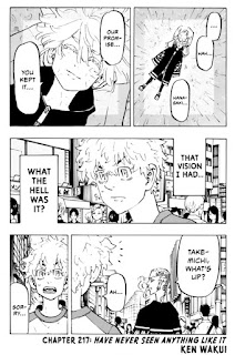 Read Tokyo Revengers Manga Chapter 217 English