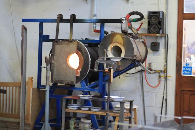 Glass Furnace Jerpoint Glass