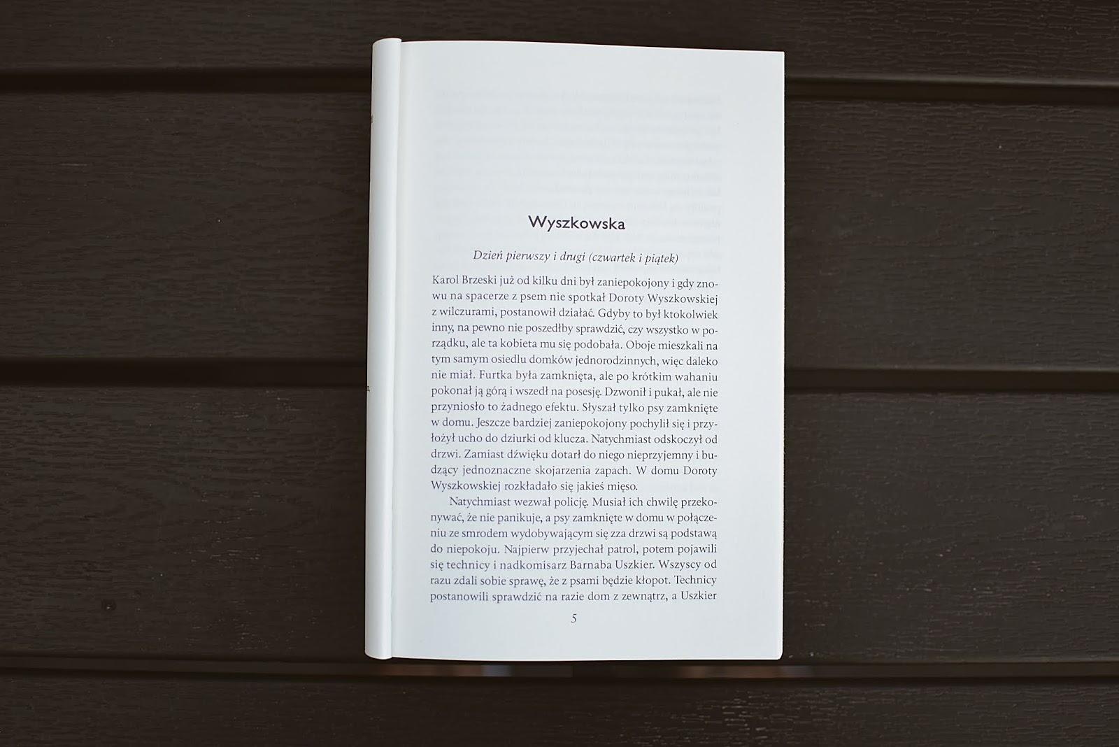 Łowca, BarnabaUszkier, seria, AgnieszkaPruska, WydawnictwoOficynka, kryminał, opowiadanie, recenzja,