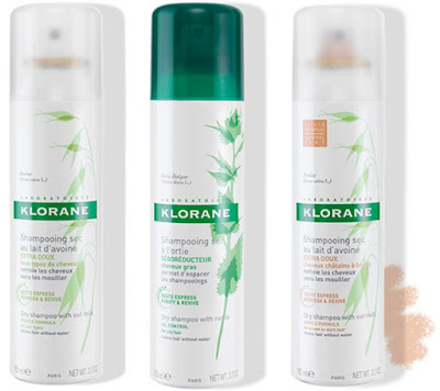 Perk up holiday weary hair with Klorane Dry Shampoo!