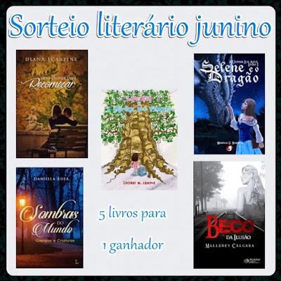 sorteio, livros, literatura-nacional