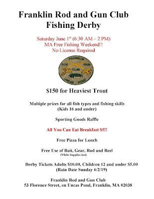 Trout Fishing Derby - June 1